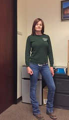 Gonna have a busy weekend!  Daughter had volleyball tournament for 3 days, I am shooting my AR-15 in a match Sunday and Monday working on my truck! (HIRH_MOM) Tags: me jeanday friday tgif people indoor milf cute wranglers mom smile redhead pretty ariratboots girl