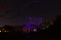 Drone Trails February 2017 (Bo Chambers) Tags: longexposure lightpaint lightpainting sky night drone minidrone dronepaint dronepainting skypainter exposure flight fly nikon d7100 wideangle uwa tokina ultrawideangle bochambers flying hover quadcopter photoart droneart abstract light lighttrails