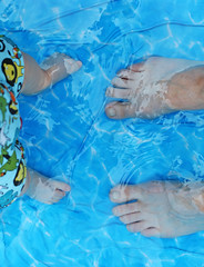 30th June - bliss (*superhoop*) Tags: feet me water eli paddlingpool roehampton hpad hpad2009 hpad300609
