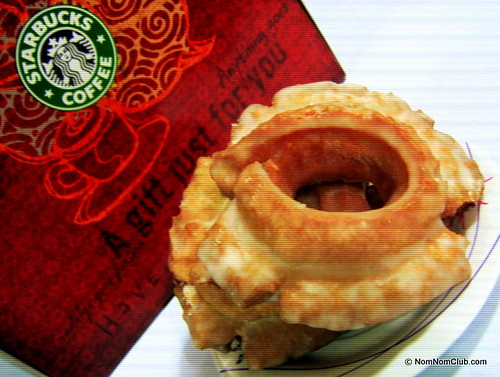 Starbucks Glazed Old Fashioned Doughnut