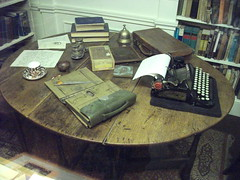 Joseph Conrad's writing desk and typewri by Ben Sutherland, on Flickr