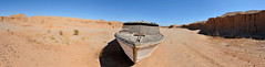 bob-cooley-dry-river-bed-mexico (bobcooley) Tags: panorama mexico riverbed stitched