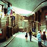 pedestrianised ceiling