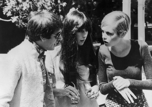 Sonny Bono, Cher and Twiggy(submitted by yeswecancan)