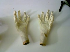 Hands with Masking Layer
