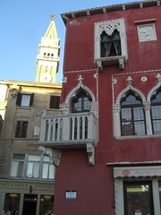 piran, slovenia (ivika) Tags: city red sea building tower church europe casio slovenia piran venezia adriatic istria istra pirano istrien