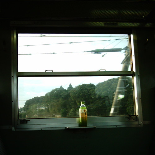【写真】Train window