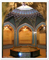 You're not a Photographer ! (1Ehsan) Tags: tile iran symmetry shiraz teahouse saditomb journeyautumn86