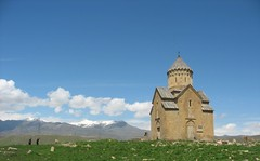 St. Mary Church of Areni Village (nersess) Tags: sky church saint mary iglesia kirche dome caucasus armenia orthodox glise armenianchurch kaukasus kaukaz areni armenianorthodox