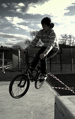sLoMo (Siobhan Gorry) Tags: bw cool boards surf young bikes dude skatepark skater tonal