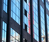 Reflection of regeneration (abrinsky) Tags: reflection geotagged birmingham birminghamuk snowhill lpwindows geo:lat=52482767 geo:lon=1897159