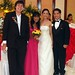 me, random WPM and bride and groom