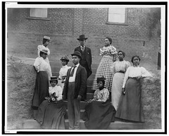 African American men and women. group portrait (Black History Album) Tags: portrait 1900 africanamerican blackman blackhistory blackwoman parisexhibition