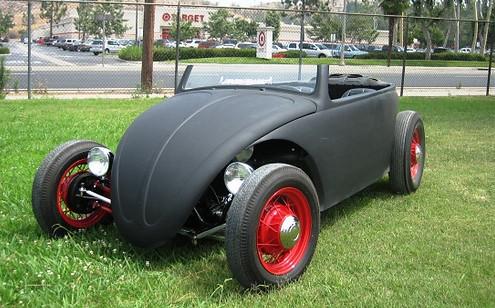 Cool Looking Roadster, Built On 1965 Beetle Base: