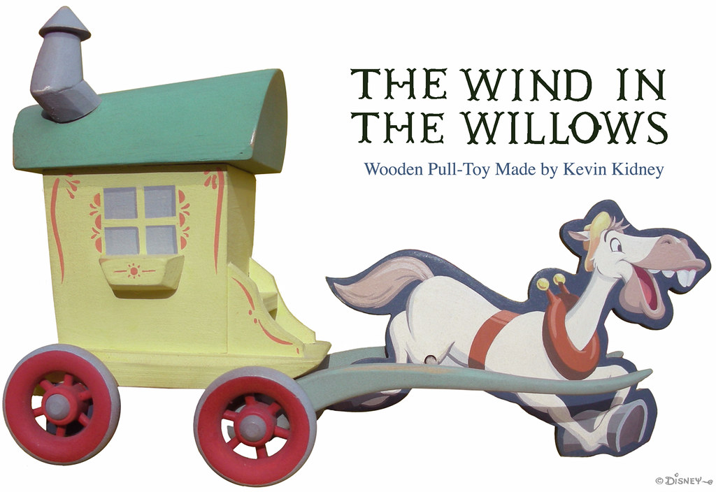 """Wind in the Willows"" Toy by Kevin Kidney"