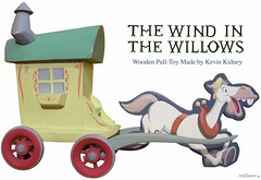 """Wind in the Willows"" Toy by Kevin Kidney (Miehana) Tags: horse toy handmade disney animation cart gypsy ichabod mrtoad windinthewillows kevinkidney kennethgraham cyrilproudbottom"