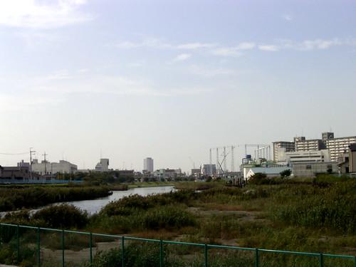 そして旧中川へ