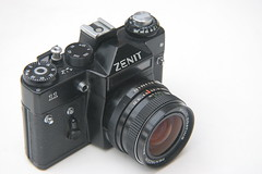 Zenit 11 SLR (ludwig van standard lamp) Tags: camera slr creativecommons zenit zenit11