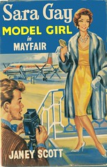 Sara Gay Model Girl in Mayfair (sparkleneely) Tags: vintage book retro collection study teen series