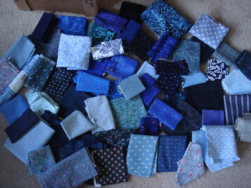 Blue Quilt Fabric