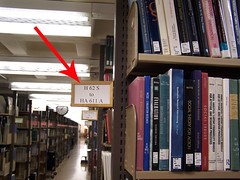 Regular Size Books in Olin Library