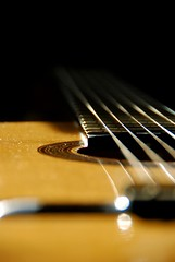 """Guitar"" (helmet13) Tags: music guitar simplicity studies classicalguitar selectivefocus 200faves d80 world100f"