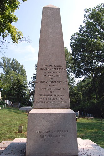Thomas Jefferson s Pagan tombstone