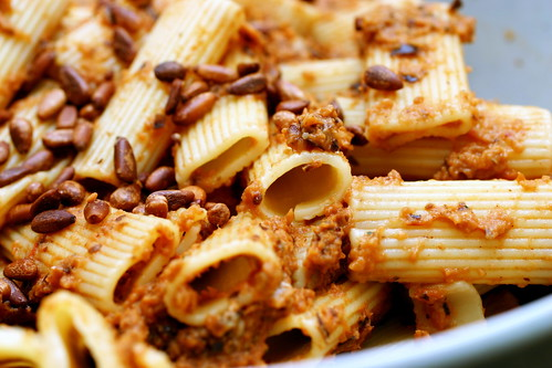 rigatoni with eggplant puree | smitten kitchen