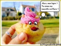 Muffins de St valentin, glaçage Rose-Bonbon (VGL) 2254683430_bd196e4246_m
