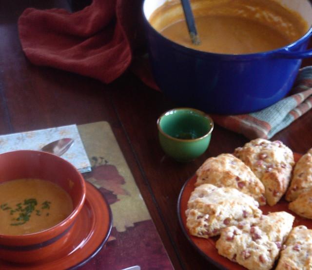Comfort Food: Soup & Scones