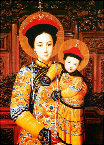 Our Lord Emperor JC and his Mother, Our Lady of Beijing