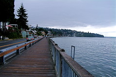 Puget Sound at Redondo Beach Washington