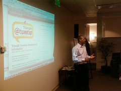 @waynesutton kicks off #triangletweetup