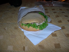 Tuna Sandwich in Toulouse