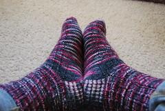 Charade socks for mom