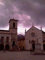 Birth Place of Ss. Benedict and Scholastica (Ron Floyd) Tags: monks norcia benedict
