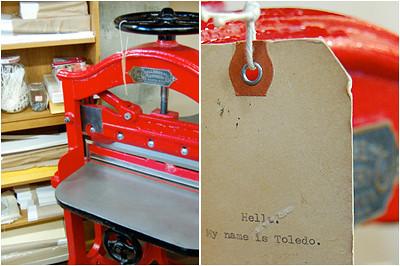 toledo the paper cutter