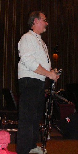 Bill with Bass Clarinet