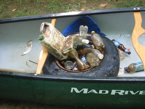 River Cleanup Haw River