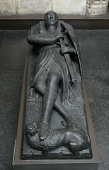 Plaster cast of an effigy of William Marshal. Museum no.  REPRO.A.1938-7