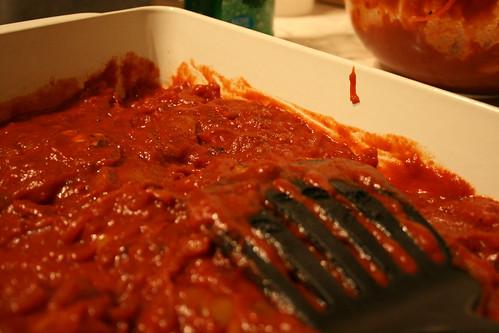 Chorizo ragu