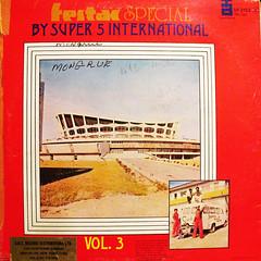 Super 5 - Festac Special (freshlyserious(dot)com) Tags: red music records vintage dj album vinyl technics turntable collections recordplayer lp funk nigeria record fela afrobeat