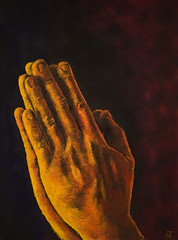 Praying Hands (Neil Tackaberry) Tags: prayinghands oilpainting art artwork albrechtdurer handstudy fineart irishartist wow candlelight raheenstudio raheen studio praying hands warm light warmlight yellow color colour traditionalart illustration anatomy painting oils oil fine hand study irish artist irishpainter irishvisualartist visualart visual tackaberry neiltackaberry neilt image imageart imageartist artimage neil freehand handdrawn