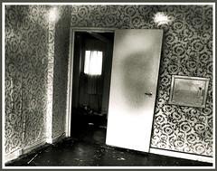 Abandoned Flat - Carlton Towers Block I (James W Bell (Good Honest Iago) - Leeds) Tags: abandoned flat carltontowers littlelondon highrise council flats leeds empty kodakz700 urbanexploration terminallyilldyingleeds councilestate april2008 innercity itaeratquandohicadveni itwaslikethiswhenigothere itwaslikethiswhenigotthere nothinglastsforever derelict abandonment housing socialhousing towerblock multistorey uk england urbandecay towerblocks highriseflats urbanregeneration councilflats block1 demolition housingestate councilhousing tower block deprivedarea midcenturyhousing deprivation tplan demolished 48dwellings 8floors 1959 balconyaccess mytonltd precastconcrete privatebalcony photography brutalism 50s 60s civilarchitecture midcentury