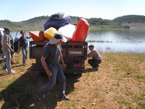 Canoagem - Expedição ao Alqueva