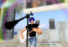 Edward Kyomoom @ Crystal Sands (rula.rayna) Tags: portrait photograph secondlife metaverse