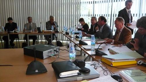Le Conseil général à Gauche : Vu de l'intérieur