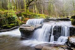 Brecon beacons river (gopper) Tags: river waterfall waterfalls brecon beacons wales welsh cymru breconbeacons merthyr neuadd afon fall rock rocks small winter february ngc nikon d5300