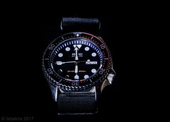 Seiko Diver Skx007 (fabakira) Tags: fabakira fabakiraphotography fabakiraphotography2017 nikon d7000 sigma sigma70200 gardetemps montres seiko diver skx007 horlogerie