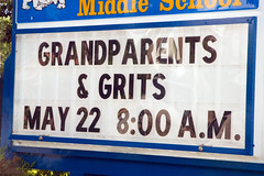 G&G (Just some dust) Tags: sign grandparents grits grandparentsandgrits
